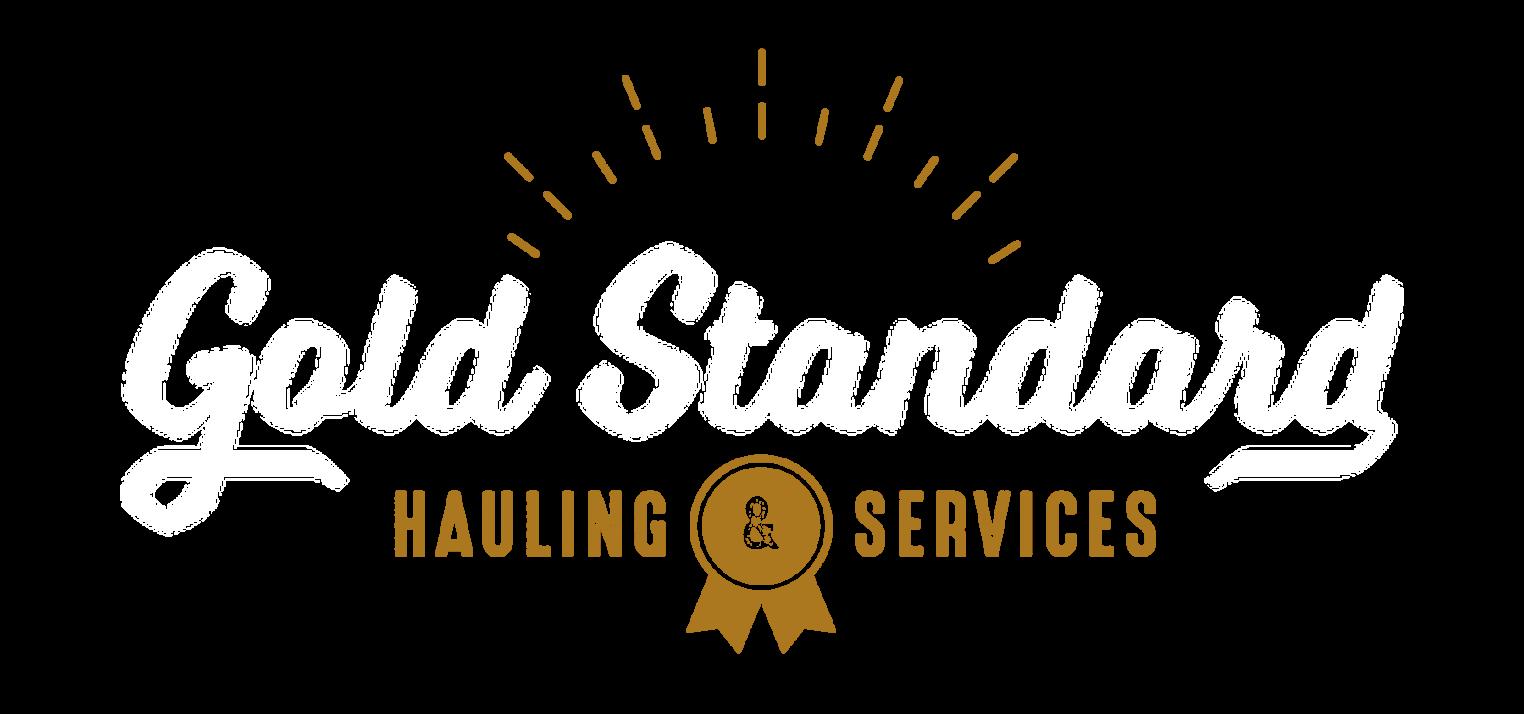 Gold Standard Hauling & Services Logo